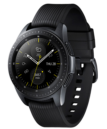 Онлайн каталог ремешков к Samsung Galaxy Watch 42mm Midnight Black